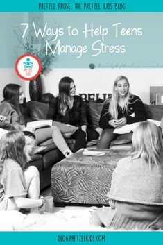 Teen stress is a growing epidemic. Here are our top 7 tips to help teens manage stress and anxiety. Mindfulness Courses, Mindfulness For Kids, Teen Stress, Stress And Anxiety, Yoga For Kids, Exercise For Kids, Teaching Kids, Kids Learning, Friendship Problems