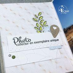 Sandelsa : #Tampons et #matrices de coupe #dies #4enSCRAP « Photo collector» #carte #carterie #card #cardmaking Tampons, The Collector, Unique, Cutaway
