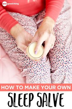 Learn how to make an all-natural Sleep Salve that will help you fall asleep and stay asleep. It's easy to make and apply, and it can also help soften dry, cracked feet! Win Win! #essentialoilbeauty #essentialoilDIY Dry Cracked Feet, Lip Scrub Homemade, Diy Beauty, Beauty Hacks, Beauty Ideas, Soft Feet, Natural Sleep, Essential Oil Uses, Beauty Recipe