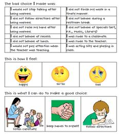https://www.teacherspayteachers.com/Product/My-Behavior-Report-106599