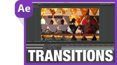Shape layer transition after effects tutorial