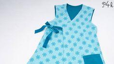 """Babyjacke Tunika, Wickeltunika, Wickeljacke, Hängerchen, Mädchenkleid """"Marie"""" mit 3 Modellvarianten bei Makerist"""