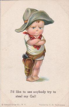 Иллюстрации и открытки Charles Twelvetrees (1888 – 1948) (161 работ) Edward Gross Co. N.Y.