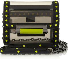 Diane von Furstenberg Highline Micro Mini PVC shoulder bag on shopstyle.com