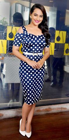 Sonakshi Sinha poses at the launch of latest edition of Women's Health magazine…