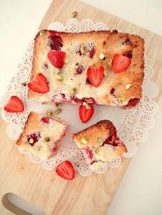 Aardbeien-kokostaart (glutenvrij)