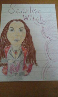 Scarlet Witch/ My art
