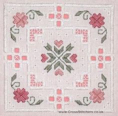 Classic Embroidery - Jade Hardanger Kit