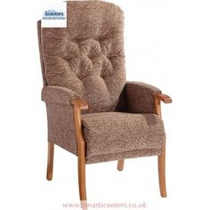 The Avon is a traditional high back chair with a deep button back for added comfort. For getting more information visit at our website portal. High Back Chairs, Chairs Online, Recliner, Avon, Armchair, Mobility Scooters, London, Furniture, Home Decor