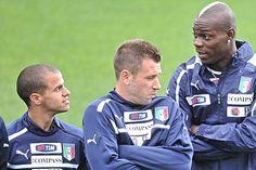 Sebastian Giovinco , Mario Balotelli & Antonio Cassano