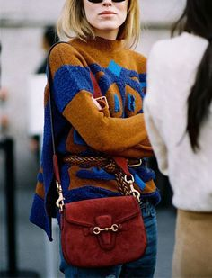 """""""the structured saddlebag purse"""" The 10 Fashion Pieces to Buy This Fall via @PureWow"""