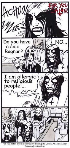 For You Satan comic strip nr: 38