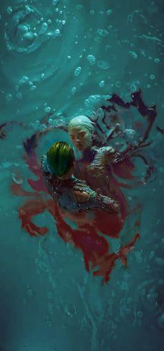 A imagem é fofa mas..é né.. alguém além de mim acha a paixão do coringa pela Arlequina um tanto quanto forçada.. por que né pra ele, ela é só um objeto