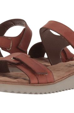 Walking Cradles Halle (Tobacco Agata Leather) Women's Sandals - Walking Cradles, Halle, W-84708 TOLE-267, Footwear Open Casual Sandal, Casual Sandal, Open Footwear, Footwear, Shoes, Gift - Outfit Ideas And Street Style 2017