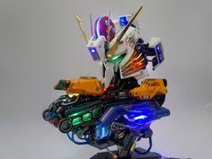Custom Build: 1/24 GSM EX-S Gundam Head Bust Display - Gundam Kits Collection News and Reviews