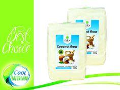 Coco Flour, Kokosmehl 2x500g Glutenfreier Back-Spaß für deine Küche