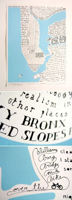 my love for regina spektor, new york & typography combined in one print. see it here on etsy.
