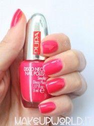 Pupa Disco Fuchsia 052 #makeup #trucco #smalto #nail #nails #nailart #nailpolish #review #beauty #beautyblogger #nailmania