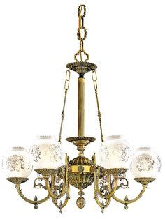 English victorian 8 light chandelier with etched glass shades english victorian 6 light chandelier with etched glass shades mozeypictures Image collections