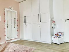 Our daughter& bedroom - Ikea Pax cabinets Ikea Pax, Dressing Ikea, Tall Cabinet Storage, Locker Storage, Armoire Ikea, Ikea Kids, Home Staging, Kids Room, Daughter