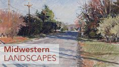 pastel_landscape_genesee-lake-road by darron lillian | artistsnetwork.com