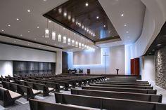 modern church interiors | architechnophilia