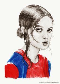 shu84: Mina Kim Illustrations