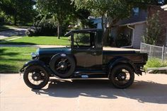 1929 Ford Model A pickup - $17,000.00 on eBay - how many trucks built today will survive to be 82 years old?