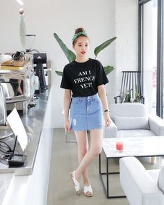 78 cute hipster outfits for girls that will fascinate you 77 Korean Fashion Trends, Korean Street Fashion, Korea Fashion, Asian Fashion, Daily Fashion, Trendy Fashion, Girl Fashion, Fashion Looks, Fashion Design