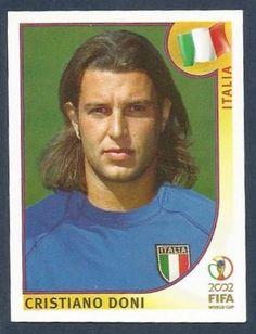 PANINI KOREA/JAPAN WORLD CUP 2002- #469-ITALIA-ITALY-CRISTIANO DONI