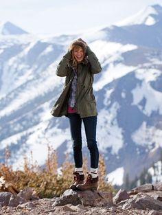 Rustic Winter Elegance Inspiration