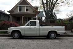 Looks like my old 1980 Ford Courier. Mine was a little lower though. Loved it! Ford Trucks, Pickup Trucks, Ford Courier, Cool Cars, Transportation, Automobile, Train, Park, Vehicles