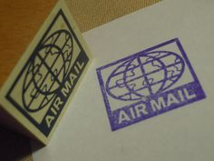 Airmail stamp 12