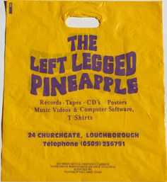 The Left Legged Pineapple - Loughbrough - Yellow