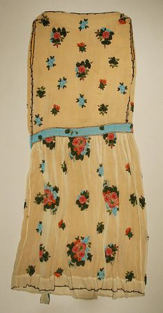20s beaded dress, The Metropolitan Museum of Art