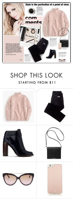 """""""The Basics"""" by gailermels ❤ liked on Polyvore featuring Prada, J.Crew, sass & bide, Tory Burch, Monki, Henri Bendel and Kate Spade"""