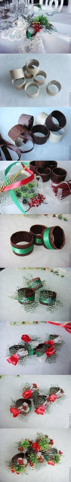 How to make Toilet Paper Roll Custom Napkin Rings DIY tutorial instructions, How to, how to do, diy instructions, crafts, do it yourself, di by Mary Smith fSesz