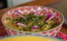 Para os amantes de comida bem temperada, essa receita de grão de bico leva gengibre, pimenta e cúrcuma!