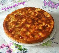 Torta+di+mele+e+yogurt+senza+burro