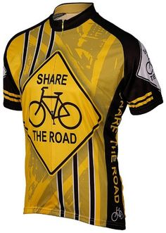Men s Cycling Jerseys - Share the Road Mens Cycling Jersey     Visit the  image 87f90e3c7