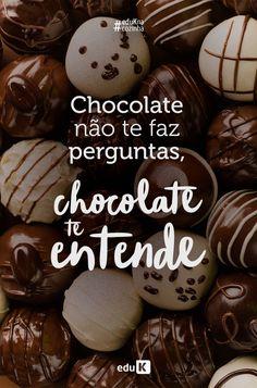Cadbury Chocolate, I Love Chocolate, Chocolate Truffles, Chocolate Lovers, Chocolate Ganache, Chocolate Desserts, Chocolate Chip Cookies, Logo Doce, Chocolate Quotes