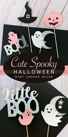 Because Halloween can also be cute, pink and shine! Perlaos brings you this cute Halloween Baby Shower Decoration. No DIY required! While you focus on the fun part, let us do the party decor magic. Halloween 1st Birthdays, Halloween First Birthday, Pumpkin 1st Birthdays, Pink Halloween, Baby Girl Halloween, Baby Shower Halloween, Halloween Party, Halloween Quotes, Halloween Cakes