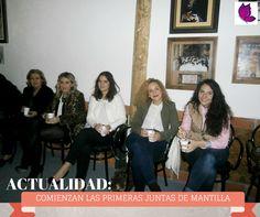 YA COMIENZAN LAS PRIMERAS JUNTAS DE MANTILLAS http://glamourlucena.es/?p=4295