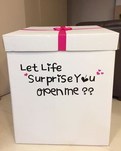 Birthday surprise box ideas diy gifts 69 ideas for 2019 Birthday Surprises For Friends, Best Friend Birthday Surprise, Birthday Balloon Surprise, Surprise Box, Birthday Box, Birthday Crafts, Best Birthday Gifts, Birthday Balloons, Birthday Recipes