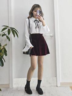 Pinterest☆*:.。.@Seoullum#NYC.。.:*☆ INS@seoullum.nyc__1112 Followme⭐️ Ulzzang Girl Fashion #KoreanFashion