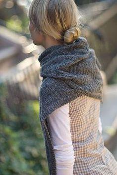 Modèle de tricot - Brooklyn Tweed Echarpe GUERNSEY WRAP