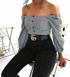 such a cute top with the ruffled sleeves and buttons down the front! Think this could be remade from something op shop! Good inspo
