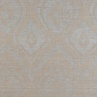 Holland & Sherry  Wallcoverings  - Printed Grasscloth - Conesus - pewter