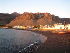 Cabo Verde tarrafal beach st. nicolau