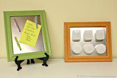 DIY magnet boards